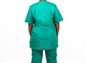 Emerald Green Poptrim Trouser